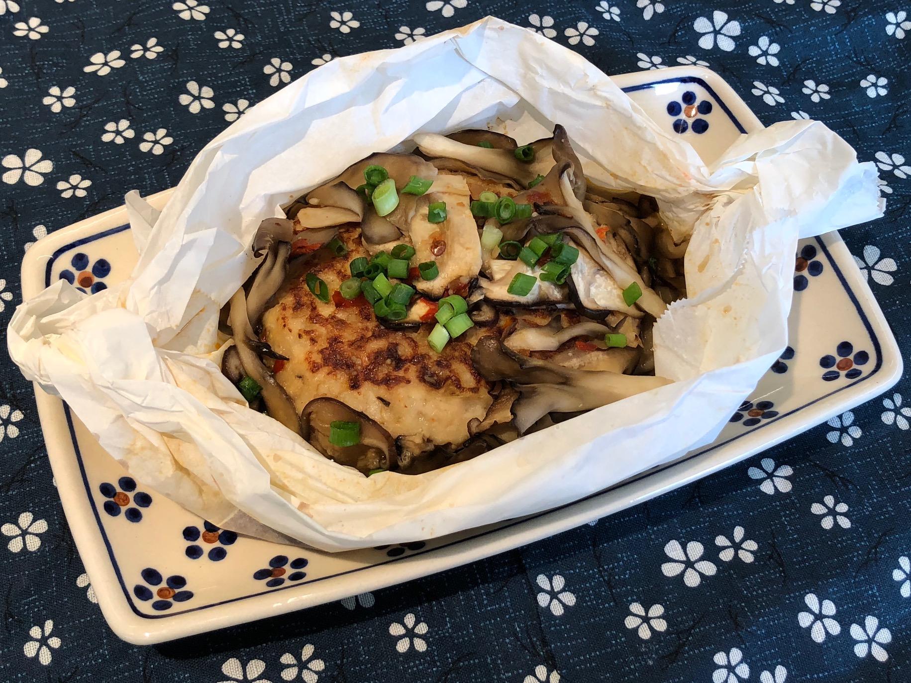 ピリ辛!つつみ焼き豆腐ハンバーグ