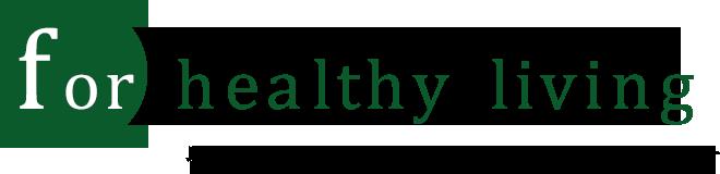 for healthy living / みなさまの健やかな暮らしをサポートします